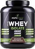 Whey Isolat Schoko - H²O-optimiert - 85,7% Protein! - Zuckerfrei - Fettfrei - 1000g - ohne Aspartam oder Cyclamat