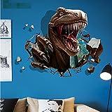 Weaeo 3D Tiere Dinosaurier Tapete Schlafzimmer Bett Wohnzimmer Sofa Hintergrund Wand Dekoration Pvc Wand Aufkleber Kommen