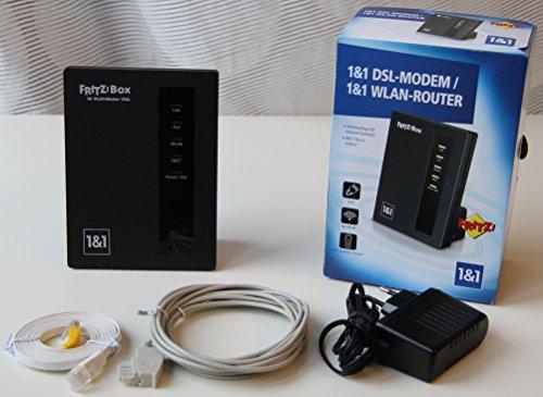 Fritzbox 7412 von 1&1 DSL MODEM / WLAN ROUTER
