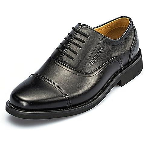 tres zapatos militares conjuntos para hombres transpirable/Zapatos militares/vestir de negocios zapatos de cuero de