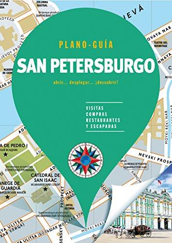 San Petersburgo (Plano - Guía): Visitas, compras, restaurantes y escapadas (PLANO-GUÍAS)
