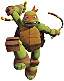 TMNT Michelangelo Giant Wall Decal by York Wallcoverings