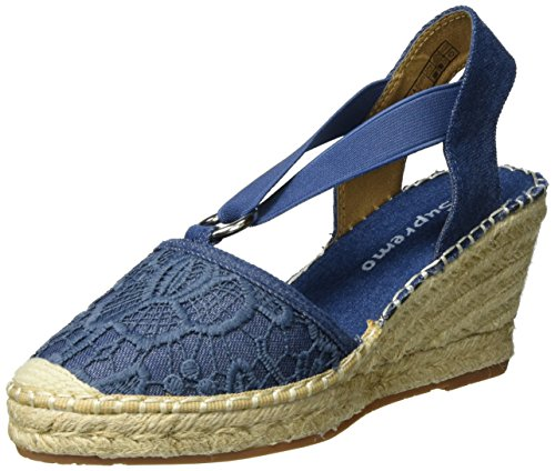 Supremo - 2726902, Sandali Donna Denim (Jeans)