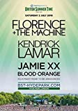 Generic Florence & The Machine London Hyde Park BST 2016
