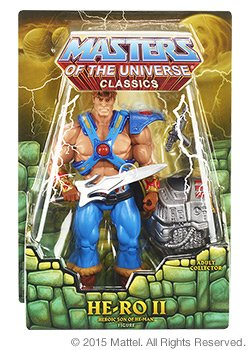 Mattel, MOTU/ MOTUC, He-Man Clásicos, -Ro II (Atrevimiento) Figura