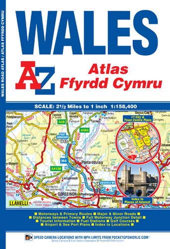 Used, Wales Regional Road Atlas (A-Z Regional Road Atlas) for sale  Delivered anywhere in UK