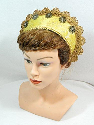 French Hood Coronet Schapel Haube Tudor Mittelalter Kokoshnik (Anne Boleyn Kostüme)