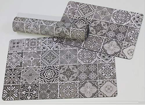 De'Carpet Alfombra Textil Suelo Baldosa Hidráulica Original Moderna L