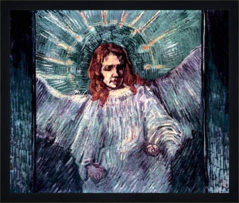 Tableau avec cadre: Vincent van Gogh,