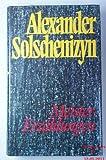 Meistererzählungen - Alexander. Solschenizyn