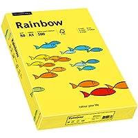 Papyrus Rainbow 88042322 - Carta multiuso, formato A3, 80 g/m², 500 fogli, colore: Giallo