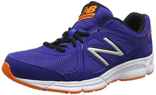 New Balance 390, Zapatillas de Running Hombre, Azul (Blue/Orange), 42.5 EU