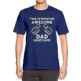 Elecenty Maglietta da Uomo Estate maschile Stampa Lettera Tees Shirt Camicetta a maniche corte Tops