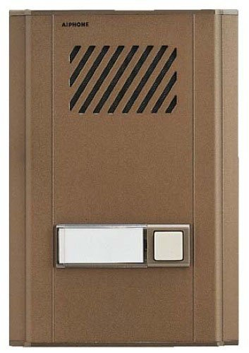 Aiphone LE-DL Surface-Mount Door Intercom with Directory for Use with LEF and LEM Series Door Intercom Systems, Aluminum Faceplate by Aiphone -