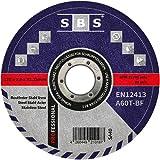SBS Roestvrij stalen snijschijf 125 x 1.0mm voor het snijden van slijpmachines - 10 stuk