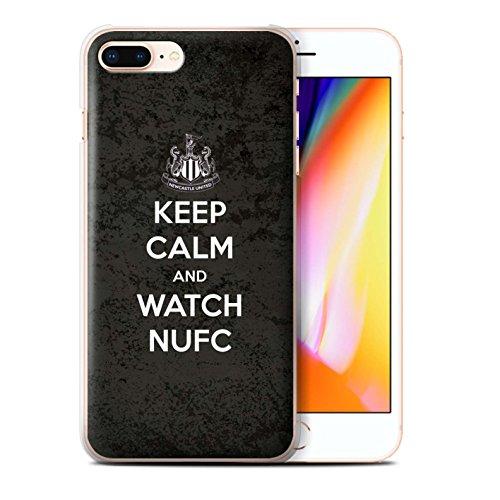 Officiel Newcastle United FC Coque / Etui pour Apple iPhone 8 Plus / Soutien Design / NUFC Keep Calm Collection Regarder NUFC