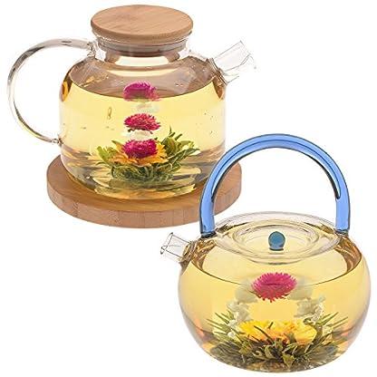 Teabloom-Blhender-Tee-Eternal-Love-und-Rising-Spring-Bltentees-2-Gourmet-Teeblten