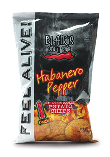 Blair's Death Rain – Habanero Chips, 2er Pack (2 x 142 g)