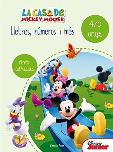 La casa de Mickey Mouse. Lletres, números i més 4/5: Quadern d'activitats d'estiu