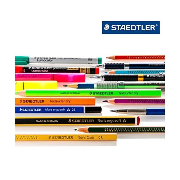 STAEDTLER 334 SB4 – Bolígrafo Punta Fina, 4 Unidades, Multicolor