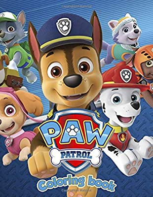 Paw Patrol Coloring Book: Aged 3 - 9 de Independently published