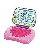 #8: Lovely English Learner Kids Laptop, Pink/Purple