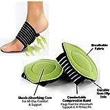 HARLLYCTION 1 Pair Foot Support Strutz Cushioned Arch Helps Decrease Plantar Fasciitis Pain