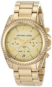 Reloj de mujer Michael Kors Mk5166 de cuarzo, correa de acero inoxidable color oro de Relojitos Euromediterranea
