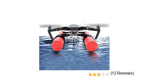 Flycoo Landing Gear pour DJI Mavic Pro Drone Protection Accessoires Train dAtterrissage Landing Kit Flottant sur leau Jambes Pieds Coussin /éponge