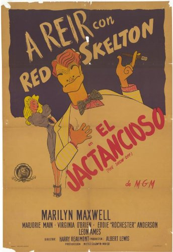 the-show-off-poster-11-x-17-inches-28cm-x-44cm-1946-argentine-style-a