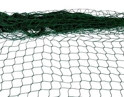 Bonsai-Shopping Abdecknetz zu Faltbecken/Koibecken, grün, Enge Maschweite von 2 cm - 99700 Netz Ø passend zu 375 cm Ø von Bonsai-Shopping