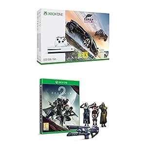 Xbox One S (500GB) with Forza Horizon 3 + Destiny 2