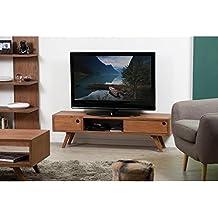 Amazon Fr Meuble Tv Bois Exotique