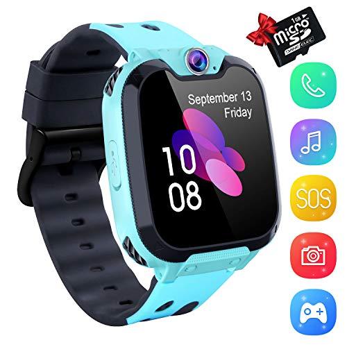 Smartwatch Phone Niños, Niños Reloj Inteligente con Reproductor de Música, Reloj Inteligente...
