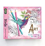 Birds Art Colouring Books for Adults