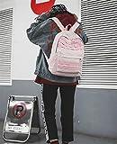 SEBAS Home Persönlichkeit Rucksäcke High School Students Campus wasserdichter einfacher Freizeitrucksack