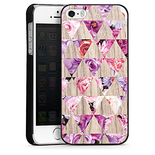 Apple iPhone 4 Housse Étui Silicone Coque Protection Motif Motif Printemps CasDur noir