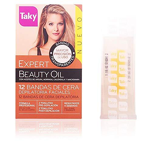 Taky Beauty Oil - Bandas depilatorias facial