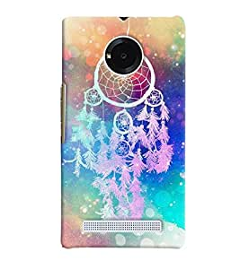 Micromax YU Yuphoria MULTICOLOR PRINTED BACK COVER FROM GADGET LOOKS