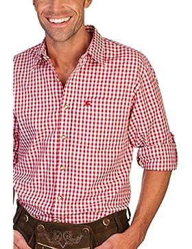 H1213 - Trachtenhemd mit Krempelarm