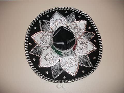 Mexican Mariachi Velvet Charro Hat- Large Size by Sanyork Fair Trade
