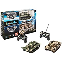 Adapter-Universe® 9640 Revell RC Battle Game Power Tracks 24224 4CH MHZ RTR 2 x Tanque Modelo IR