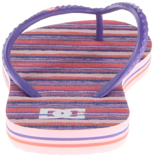 DC Shoes  Spray Graffik J Sndl Bk1, sandales de plage femme multicolore (Mehrfarbig (PINK / PINK))