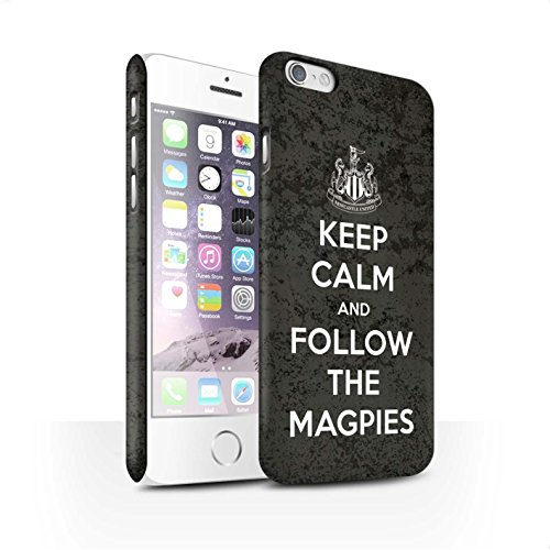 Offiziell Newcastle United FC Hülle / Matte Snap-On Case für Apple iPhone 6S / Pack 7pcs Muster / NUFC Keep Calm Kollektion Folgen/Magpies