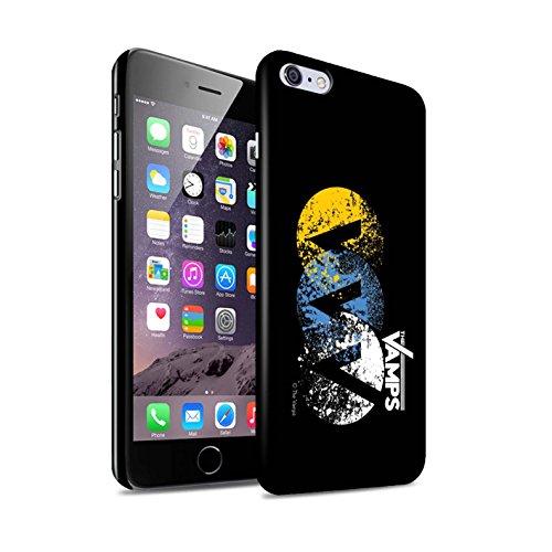 Officiel The Vamps Coque / Clipser Brillant Etui pour Apple iPhone 6+/Plus 5.5 / Pack 6pcs Design / The Vamps Graffiti Logo Groupe Collection VVV