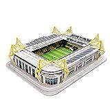 Unbekannt Borussia Dortmund 3D-Stadionpuzzle, Puzzle Stadion BVB - Plus Gratis Lesezeichen I Love Dortmund