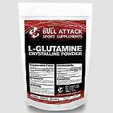 1000g / 1kg L-GLUTAMIN Pulver   Chrystalline Powder   freie Aminosäure   Regeneration + Muskelaufbau   Top Qualität + optimiert mit Vitamin B6