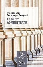 Le droit administratif de Prosper Weil