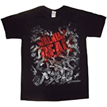 The Walking Dead Walker Horde And Logo - Camiseta manga corta Hombre