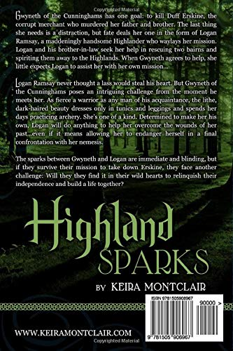 Highland Sparks: Logan and Gwyneth: Volume 5 (The Clan Grant Series)
